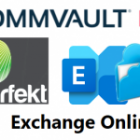 Protecting Exchange Online with Commvault when Azure Active Directory 'Security Defaults' are enabled